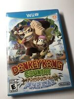 Donkey Kong Country Tropical Freeze For Wii U Game Only