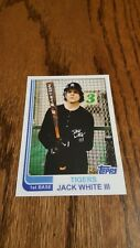 JACK WHITE III Topps Baseball Card DETROIT TIGERS Third Man THE WHITE STRIPES