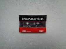 Vintage Audio Cassette MEMOREX dB 60 * Rare From Korea 1985 *