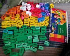 ETA Cuisenaire Reading Rods Set Of 147 Phonics Word Building Cubes Language