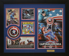 Captain America Marvel Comics Limited Edition Framed Memorabilia (b)