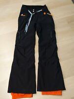 Rossignol JC de Castelbajac Gore-Tex Women Black Ski Pants Size S VGUV