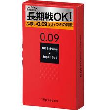 日本相模原創 Sagami Original 0.09 持久安全套 Condom 凸點加厚延時情趣保險套衛生套避孕袋持久點點 Japan Dotted 10個裝