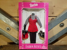 """New Vintage Barbie Clothes """"Fashion Avenue"""" 14980 Mattel New In Box Never Opened"""