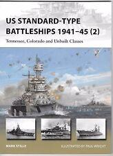 Osprey Vanguard US Standard Type Battleships 1941-45 II , 229 Softcover Ref. ST