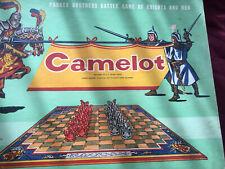 Camelot Battle Game of Knights + Men Parker Brothers 100% Complete 1958 Vintage