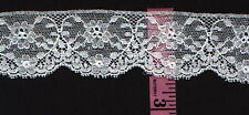 Cotton lace Trim 2 inches wide white 7 yds (2935)