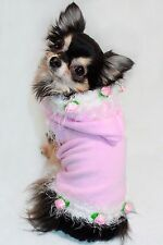 NWT Hip Doggie Pink Rose Soft Warm Hoodie Size XL