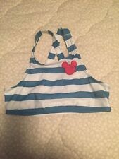 Junk Food Mickey Mouse Swim Top Size Large Girls New
