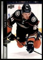 2020-21 UD Series 2 Base French #255 Sam Steel - Anaheim Ducks