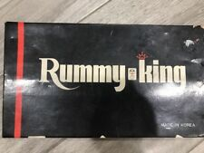 Vintage 1970's  Rummy King Tile Game Made In Korea Preowned