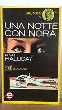 Una notte con Nora - Brett Halliday - Garzanti 3001