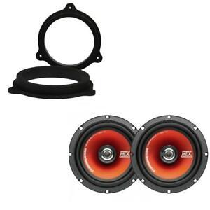 """MTX TR65C 6.5"""" 17cm Coaxial Car Door Audio MDF Speaker Upgrade for Vauxhall"""