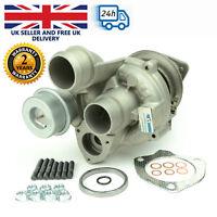 Turbocharger for BMW Mini Cooper 1.6 - 16V, 155 kW - 211 BHP. 53039700146 / 0298