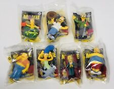 Burger King 2007 THE SIMPSONS MOVIE Figures Lot Of 7 - NEW