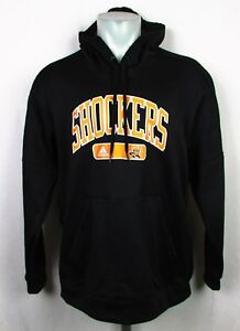 Wichita State Shockers NCAA  Adidas Pull Over Men's Climawarm Hoodie