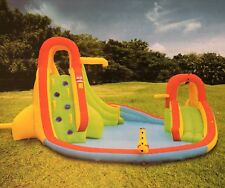 Large Inflatable Waterpark Complete Outdoor Set Includes Blower Jumping Castle