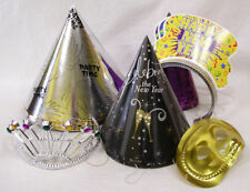 Lot of 20+ Pieces New Years Eve Hats Mask Tiaras