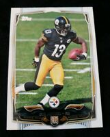 2014 Topps #377 Dri Archer RC - PITTSBURGH STEELERS ROOKIE CARD