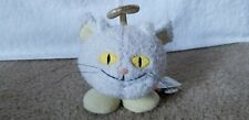 "Neopets White Angelpuss Plushie Cat Limited Edition Rare 5"" Petpet Stuffy"