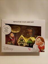 Disney Parks Grumpy Dwarf from Snow White Miniature Statuaries Garden Fairy Kit
