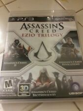 Assassins Creed Ezio Trilogy Ps3 replacement case and manual only