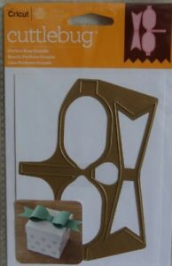 Cricut Cuttlebug Anna Griffin PERFECT BOW GRANDE Cut and Emboss Die NEW