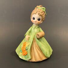 Vintage 1974 George Good March Mini Girl Figurine Bisque Josef Originals