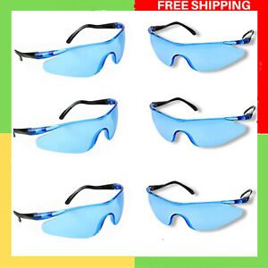 6 Pack Safety Protection Glasses Goggles Eyewear Kids Outdoor Game For Nerf Gun