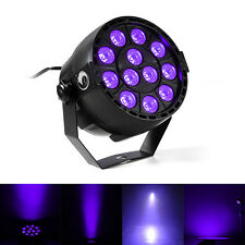 12 LED Purple Light DMX Par Can Stage Lighting Disco Club Bar DJ Light Show