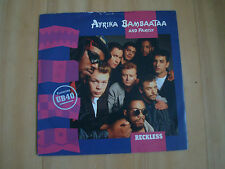 "AFRIKA BAMBAATAA AND FAMILY-RECKLESS (EMI 7"")  WITH UB40"