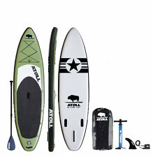 """Atoll 11'0"""" Foot Inflatable Stand Up Paddle Board, iSUP, Paddle, Bag,  BRAND NEW"""