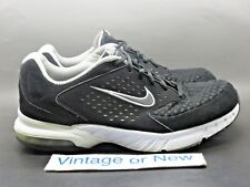 Women's Nike Air Miler Walk+ 2 Black White Walking Shoes 453872-001 sz 10.5