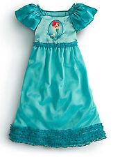 Disney Little Mermaid Ariel Deluxe Nightgown Pajamas Size 4