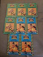 Vintage The Incredible Crash Dummies Book Lot puzzle maze activity