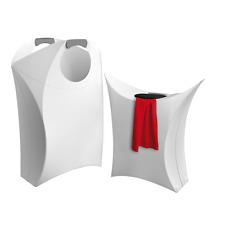 Wäschekorb ORIGAMI,  faltbar , Wäschesammler & Wäschetruhe Wäschesack weiss