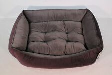 Bowsers Pet Products The Scoop Dog Bed Large Aubergine