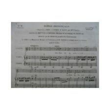BERTON H. Ronde Provençale Opera Aline Chant Harpe ou Piano ca1810 partition she