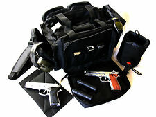 "NEW Black 20"" NATO Tactical ® Gun Pistol Range shoot hunt 1000D Nylon Duffle bag"