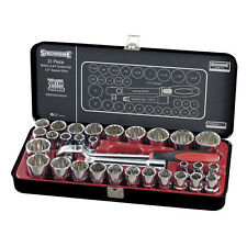 Sidchrome 1/2'' dr 31 Piece Socket Set LIMITED EDITION BLACK SERIES TOOL KIT