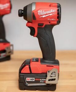 """Milwaukee M18FID2-0 Fuel 1/4"""" Impact Driver (Body Only) Used"""