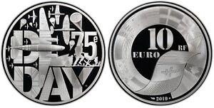 2019 France 10 Euros The D-Day Silver Coin PCGS PR70DCAM BOA