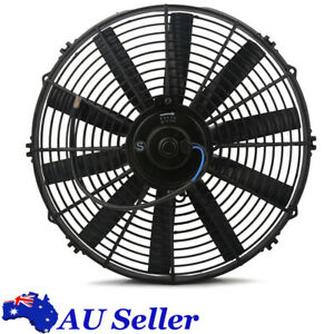 Universal 14inch Slim Fan Push/Pull Electric Radiator Cooling Engine Kit 2250CFM