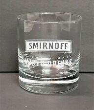 "Smirnoff Premium Malt Mixed Drinks Glass 7oz ""A"" *204"