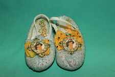 DISNEY PARKS PRINCESS JASMINE GIRLS SHOES TODDLER SIZE 5/6 NEW PRINCESS COSTUME