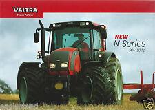 Farm Tractor Brochure - Valtra - N91 et al - N series  (F4509)