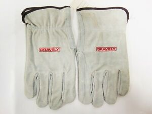 OEM Gravely Lawn Mower Gravely Leather Work Gloves 880031