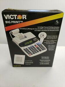 Victor 1310 Big Print Commercial Thermal Printing Calculator Works/Doesnt print
