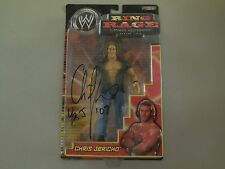 wwe 2005 ring rage chris jericho autographed figure