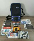 Gameboy Advance Console Bundle Lot W/Protective Case & 5 Games Tested - Manuals